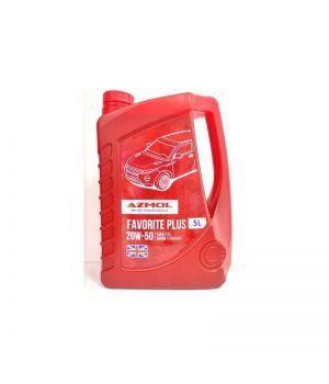 Моторне масло Azmol Favorite Plus 10W-40 5 літрів