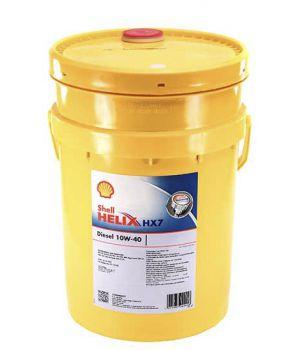 Моторне масло Shell Helix HX7 Diesel 10W-40 20 літрів