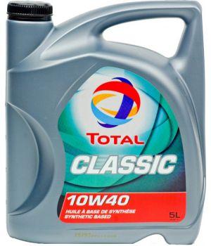 Моторне масло Total Classic 10W-40 5 літрів