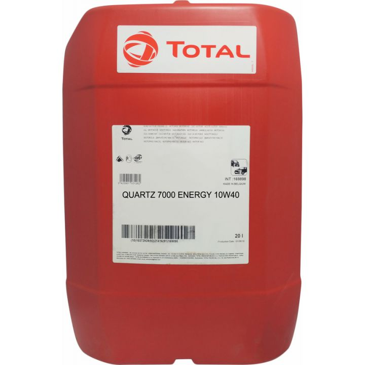 Моторне масло Total Quartz 7000 Energy 10W-40 20 літрів