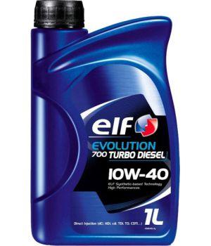 Моторне масло Elf Evolution 700 Turbo Diesel 10W-40 1 літр