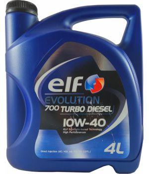 Моторне масло Elf Evolution 700 Turbo Diesel 10W-40 4 літри