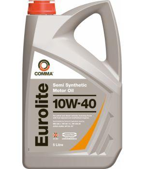 Моторне масло Comma Eurolite 10W-40 5 літрів