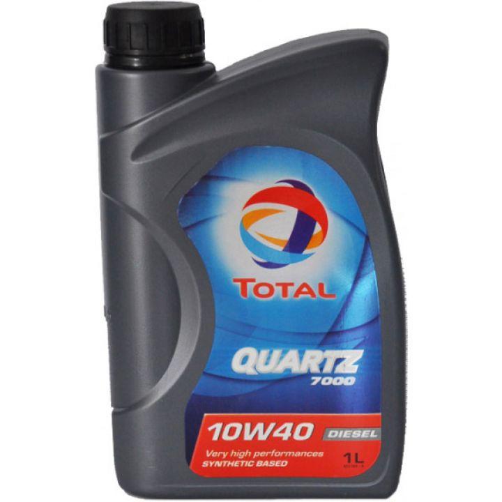Моторне масло Total Quartz 7000 Diesel 10W-40 1 літр