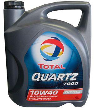 Моторне масло Total Quartz 7000 Diesel 10W-40 4 літри