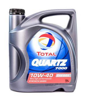 Моторне масло Total Quartz 7000 Diesel 10W-40 5 літрів
