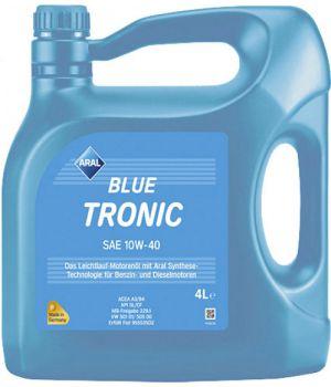 Моторне масло Aral BlueTronic 10W-40 5 літрів