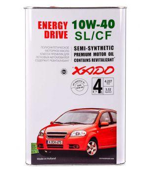 Моторне масло Xado Atomic SL / CF 10W-40 4 літри