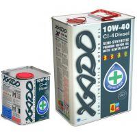 Моторне масло Xado Atomic CI-4 Diesel 10W-40 5 літрів