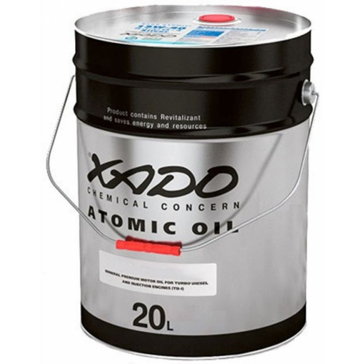 Моторне масло Xado Atomic CI-4 Diesel 10W-40 20 літрів