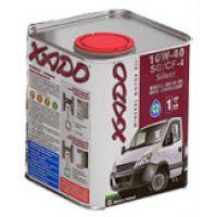 Моторне масло Xado Atomic SG / CF-4 Silver 10W-40 1 літр
