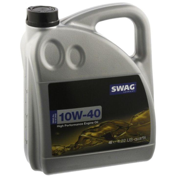 Моторне масло SWAG Engine Oil 10W-40 5 літрів