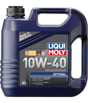 Моторне масло Liqui Moly Optimal 10W-40 4 літри