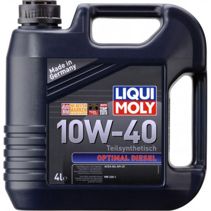 Моторне масло Liqui Moly Optimal Diesel 10W-40 4 літри