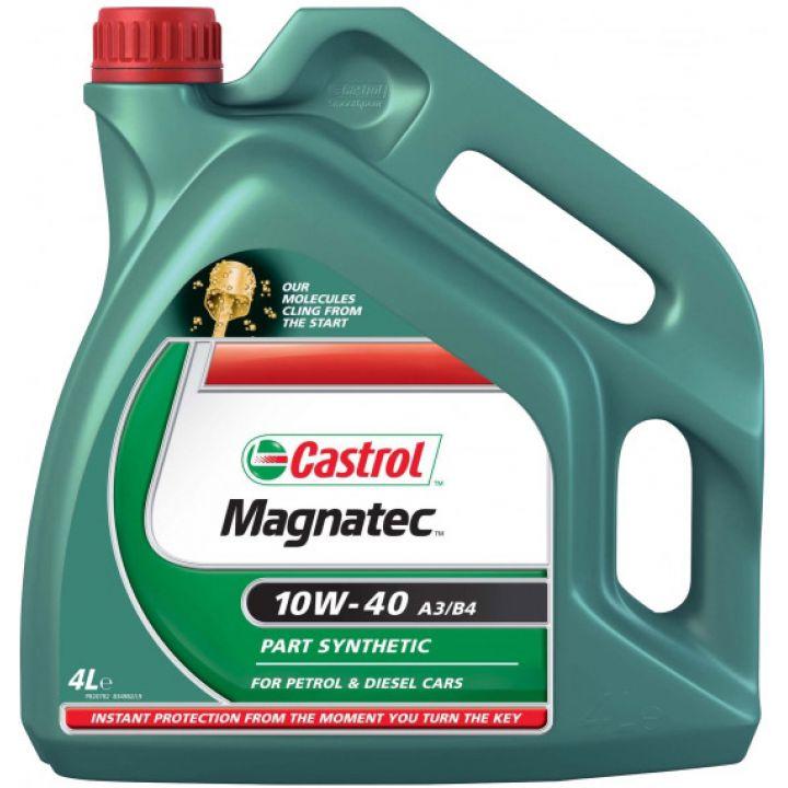 Моторне масло Castrol Magnatec A3 / B4 10W-40 4 літри