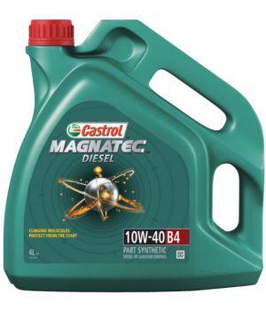Моторне масло Castrol Magnatec Diesel B4 10W-40 4 літри