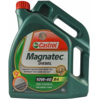 Моторне масло Castrol Magnatec Diesel B4 10W-40 5 літрів