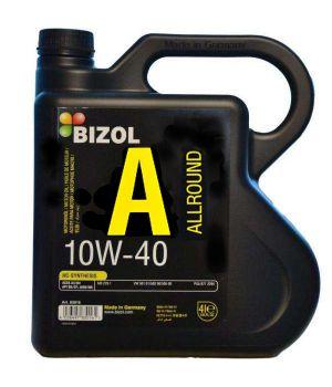Моторне масло Bizol Allround 10W-40 4 літри