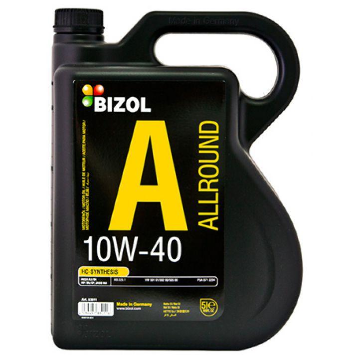 Моторне масло Bizol Allround 10W-40 5 літрів