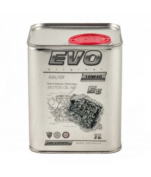 Моторне масло Evo E5 10W-40 1 літр