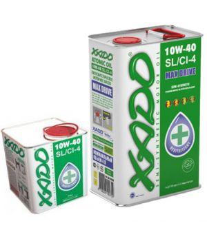 Моторне масло Xado Atomic SL / CI-4 10W-40 5 літрів