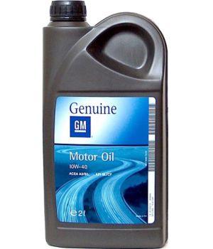 Моторне масло General Motors Semi Synthetic 10W-40 2 літри