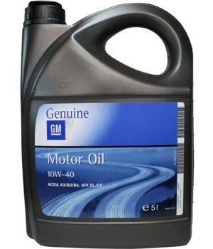 Моторне масло General Motors Semi Synthetic 10W-40 5 літрів