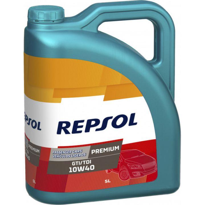 Моторне масло Repsol Premium GTI / TDI 10W-40 5 літрів