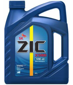 Моторне масло Zic X5000 10W-40 4 літри