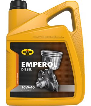 Моторне масло Kroon Oil Emperol Diesel 10W-40 5 літрів