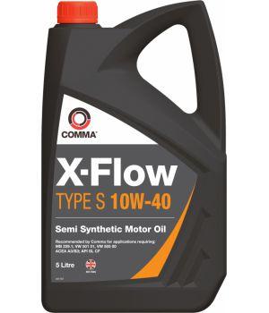 Моторне масло Comma X-Flow Type S 10W-40 5 літрів