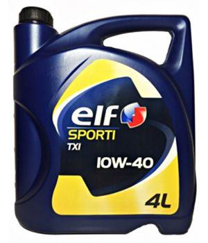 Моторне масло Elf Sporti TXI 10W-40 4 літри