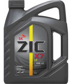 Моторне масло Zic X7 LS 10W-40 4 літри