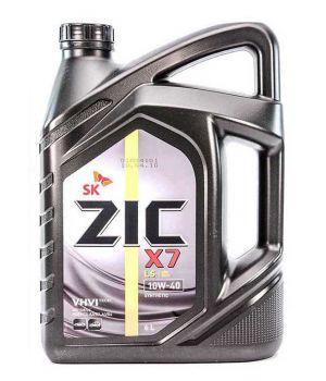 Моторне масло Zic X7 LS 10W-40 6 літрів