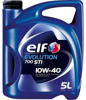 Моторне масло Elf Evolution 700 STI 10W-40 5 літрів