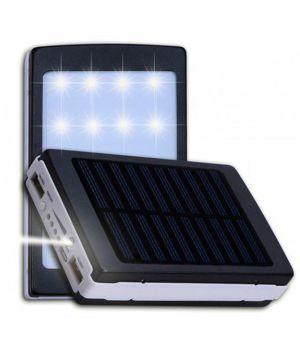 Солнечная батарея UKC Power Bank Solar 90000 mAh + фонарь